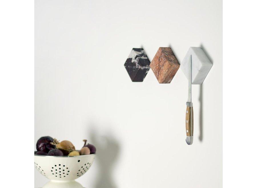 Magneetblokje MONOLYTH I Carrara Marmer