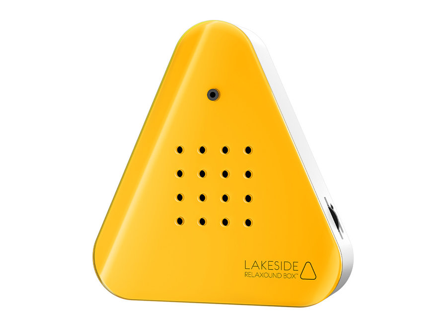 Geluidsbox Sensor Neon Oranje/Wit
