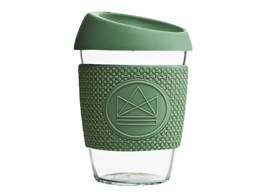 Koffiekopje To Go Happy Camper - Groen - 340ml