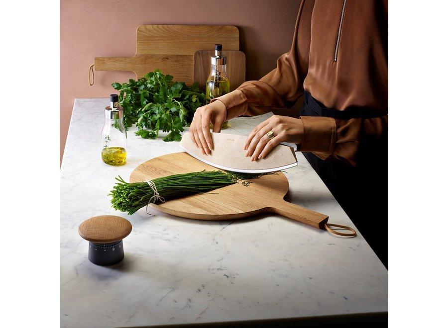 Nordic Kitchen Eikenhouten Snijplank Ø 35cm