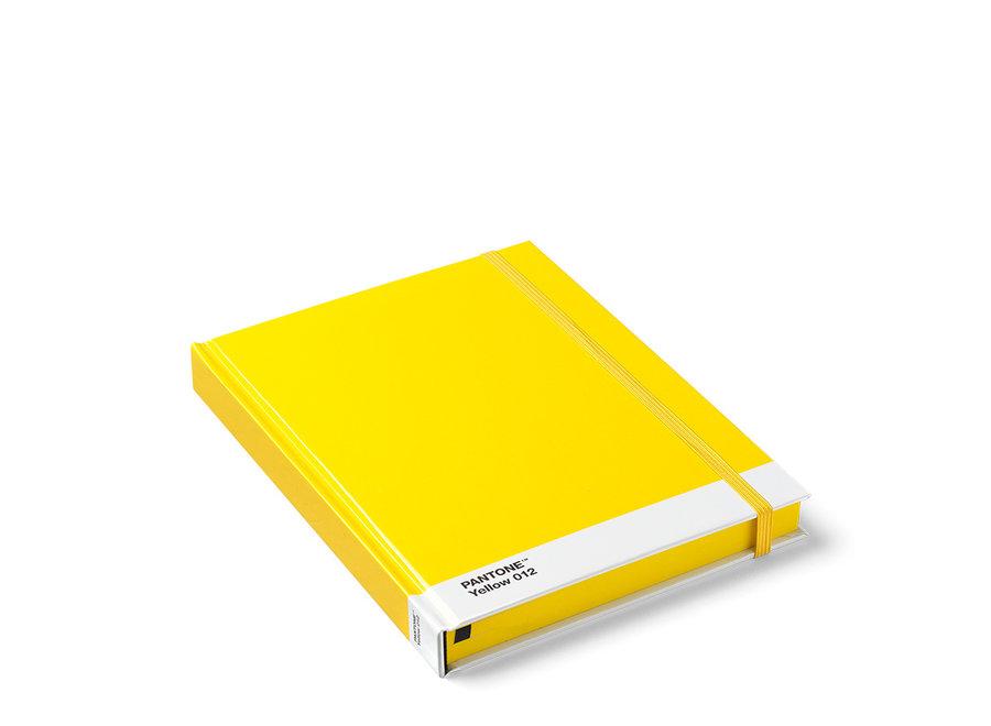 Pantone Notitieboek Groot Geel 012