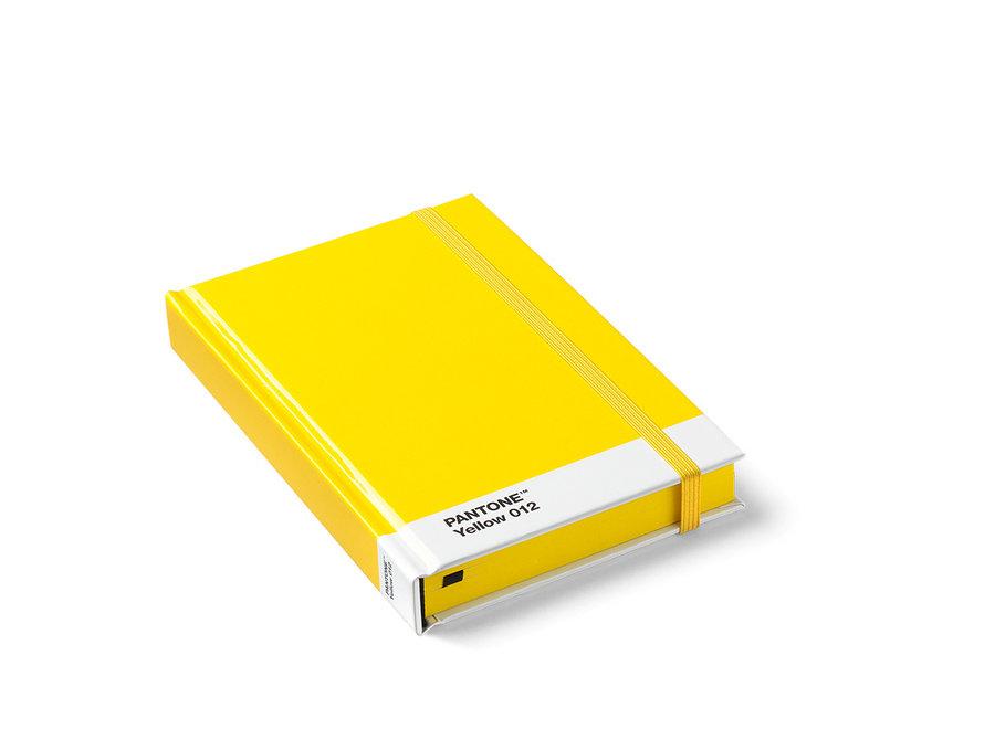 Pantone Notitieboek Klein Geel 012