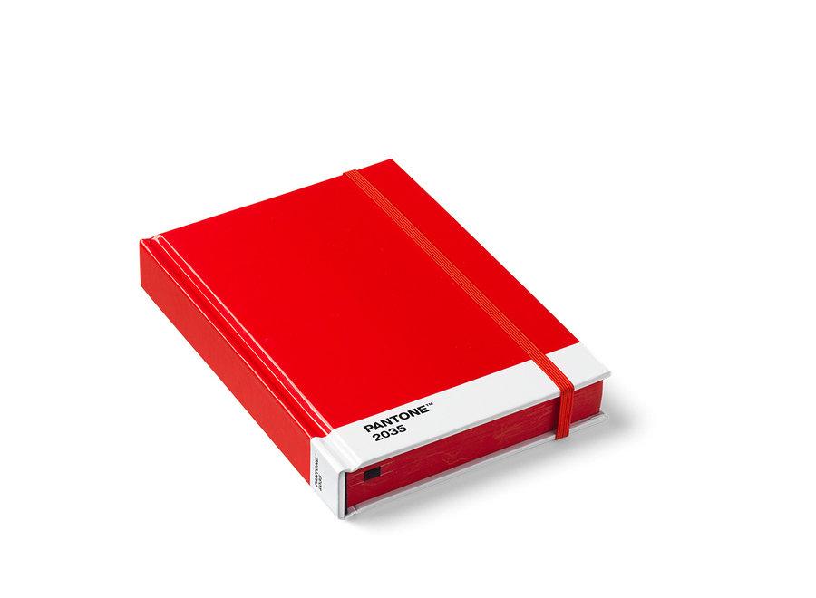 Pantone Notitieboek Klein Rood 2035