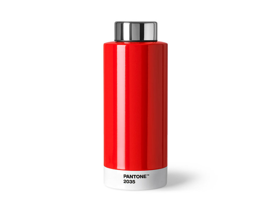 Thermosfles Pantone 2035 Rood