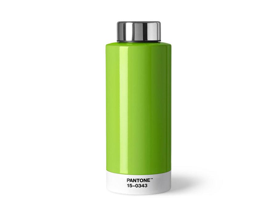 Thermosfles Pantone 15-0343 Groen
