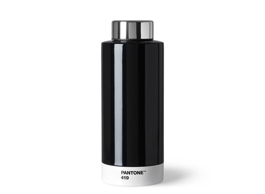 Thermosfles Pantone 419 Zwart