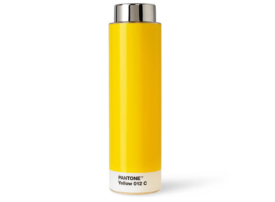 Drinkfles Pantone Yellow 012 C Geel