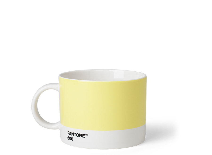 Pantone Theebeker Licht Geel 475ml