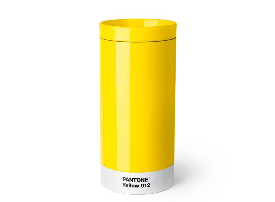 Pantone Drinkbeker To Go 430ml Geel