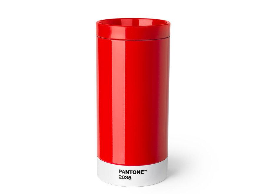 Pantone Drinkbeker To Go 430ml Rood