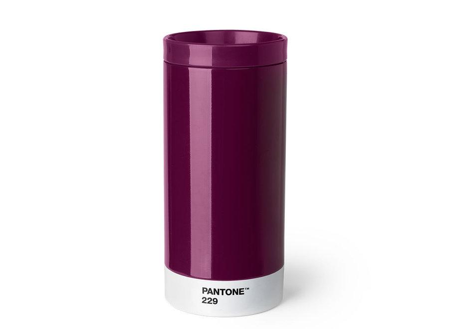 Pantone Drinkbeker To Go 430ml Bordeaux
