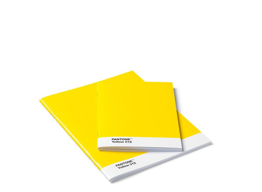Pantone Schriften Set Geel Yellow 012