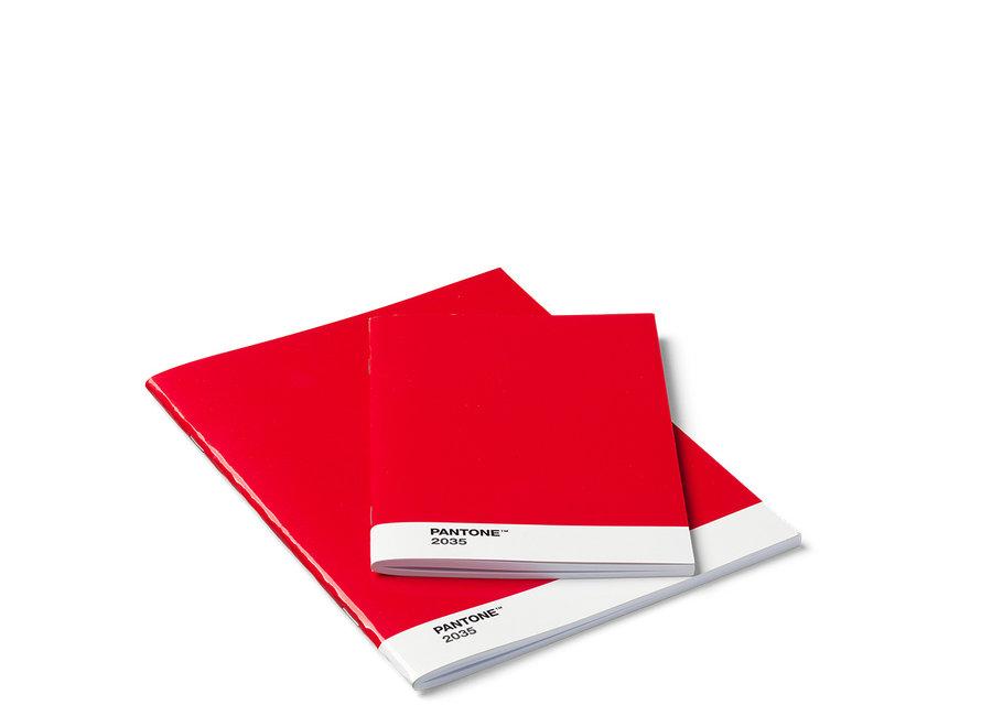 Pantone Schriften Set Rood 2035