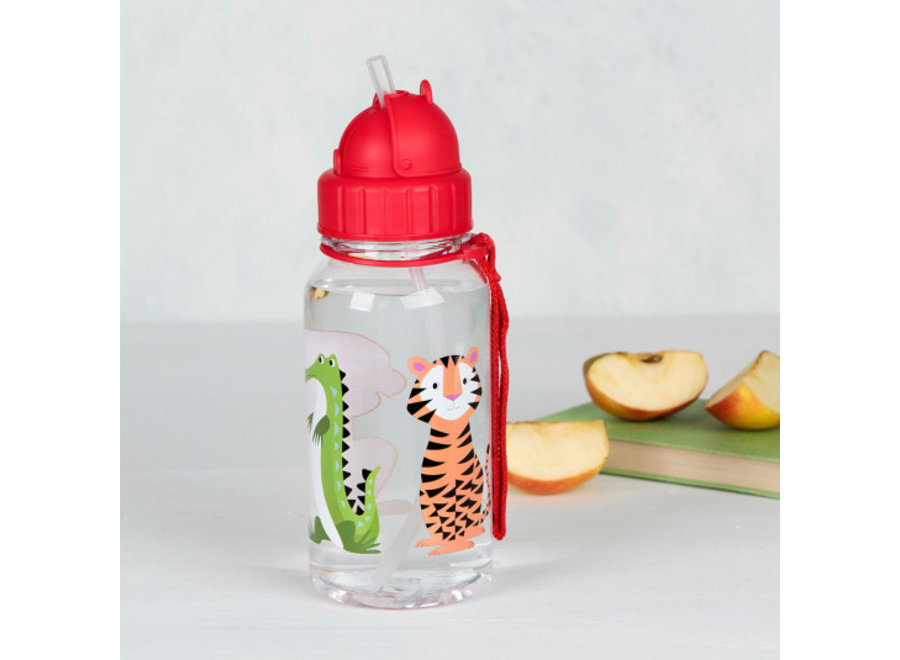 Drinkfles met Rietje Colourful Creatures