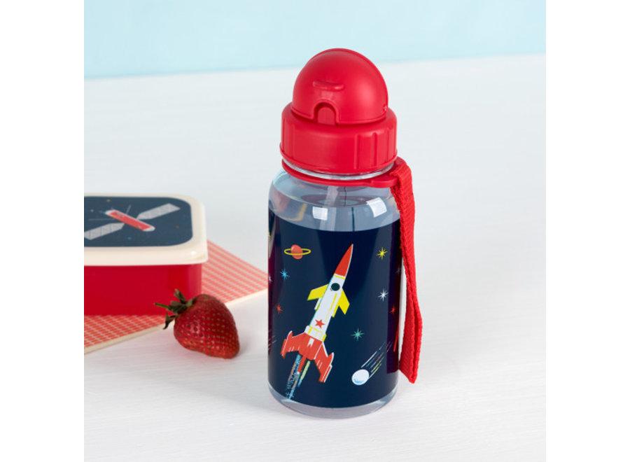 Drinkfles met Rietje Space Age