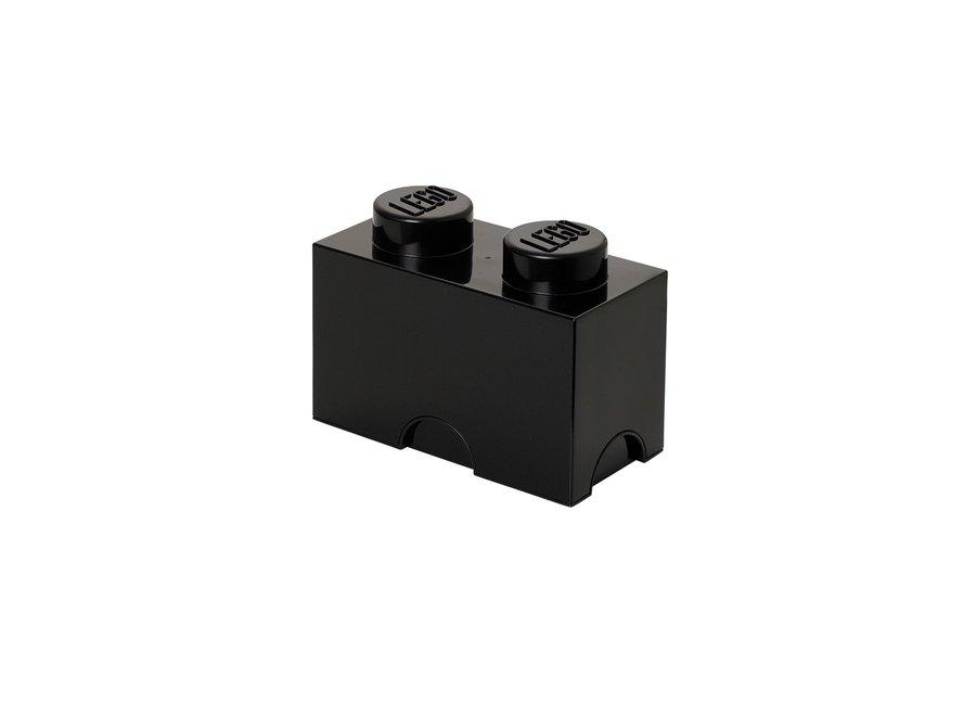 Opbergbox Brick 2 Zwart