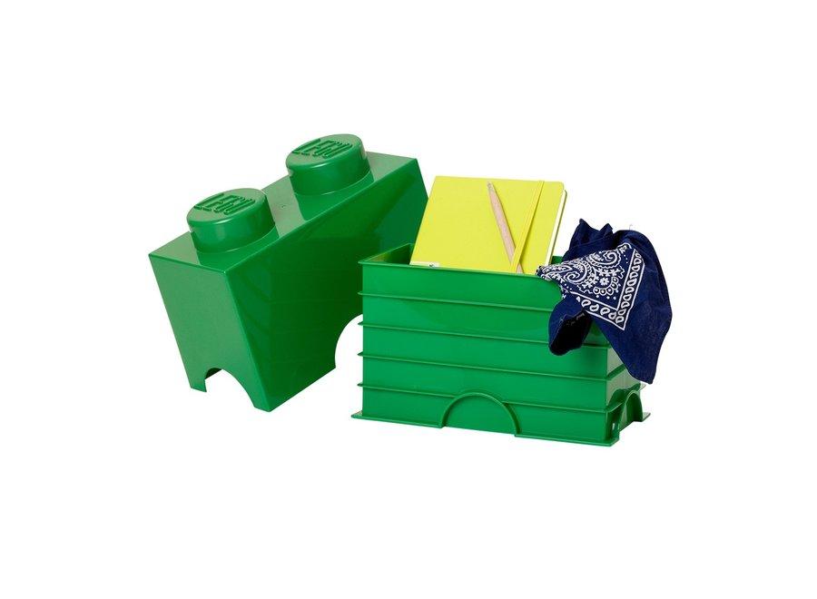 Opbergbox Brick 2 Groen