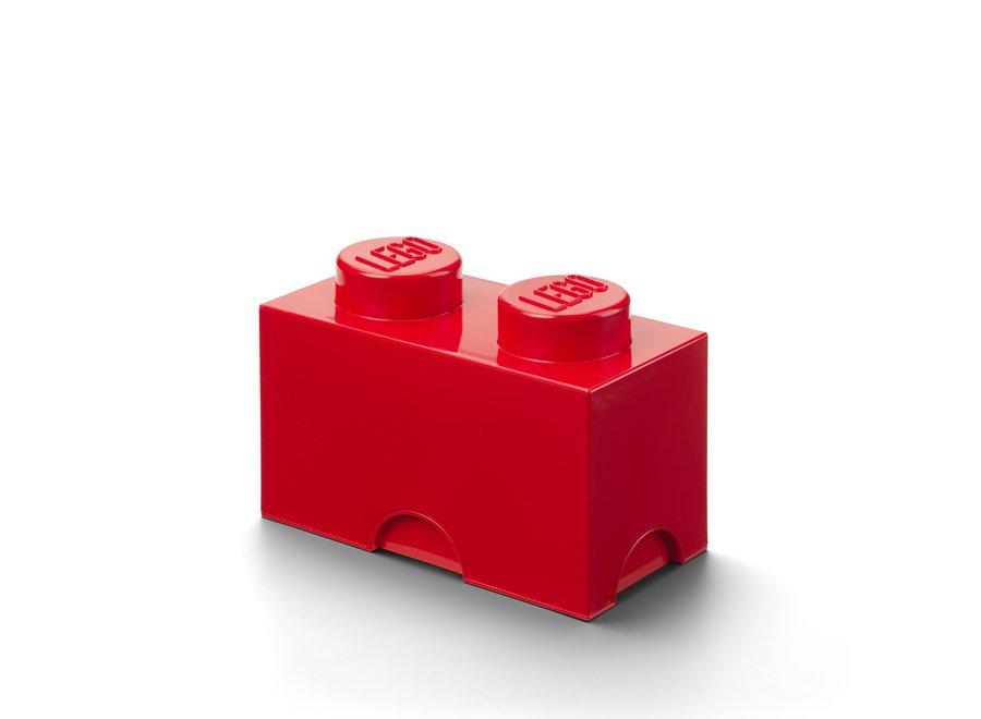Opbergbox Brick 2 Rood