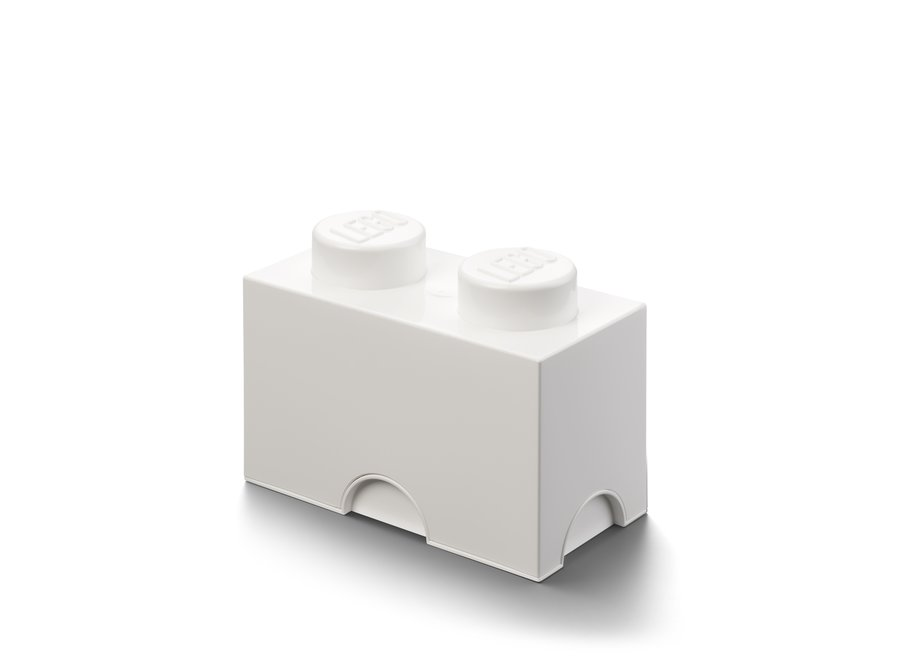 Opbergbox Brick 2 Wit