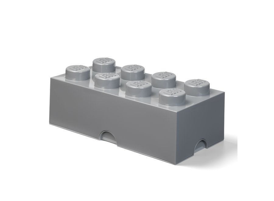 Opbergbox Brick 8 Donker Grijs 12L