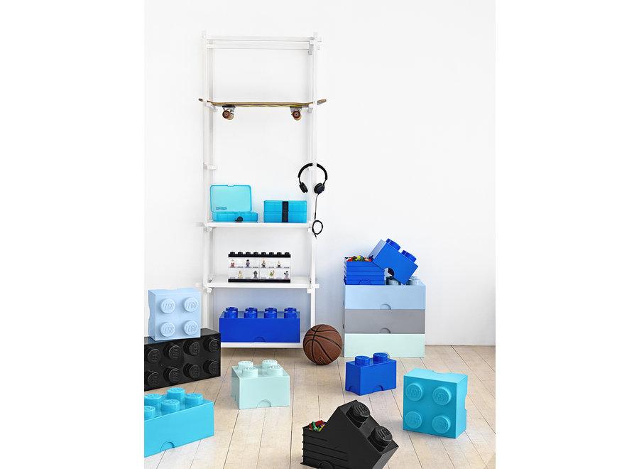 Opbergbox Brick 8 Licht Blauw 12L