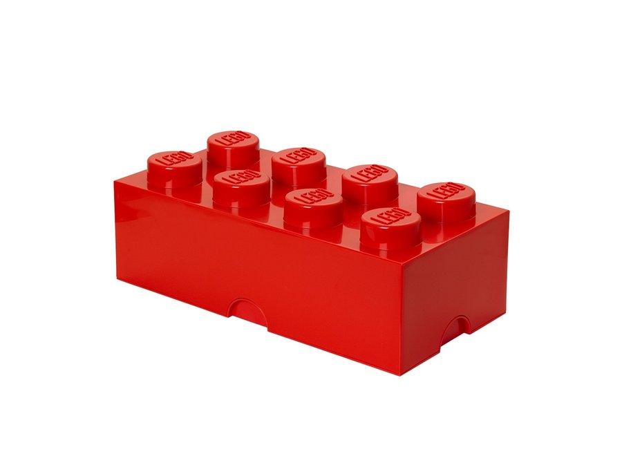 Opbergbox Brick 8 Rood 12L