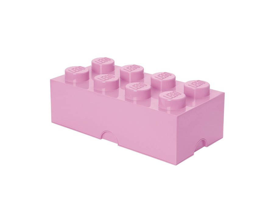 Opbergbox Brick 8 Licht Roze 12L