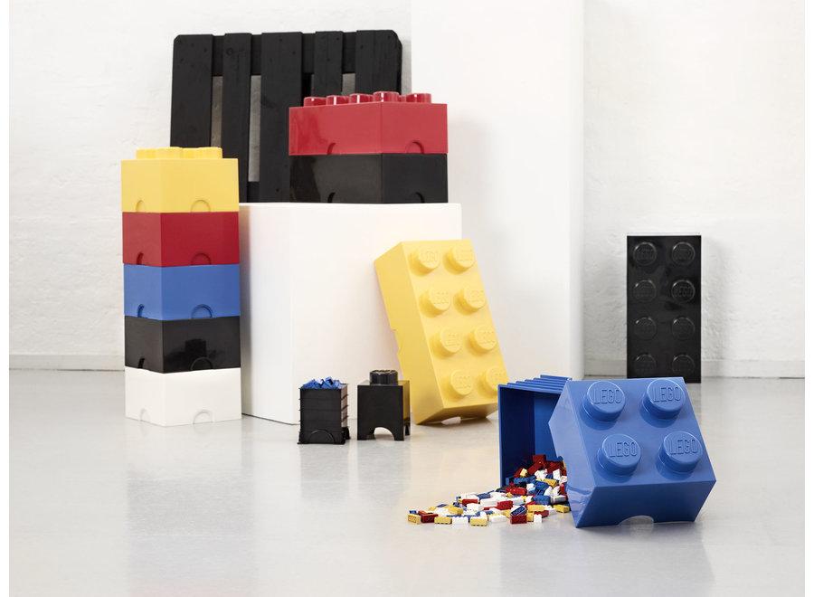 Opbergbox Brick 8 Zwart 12L