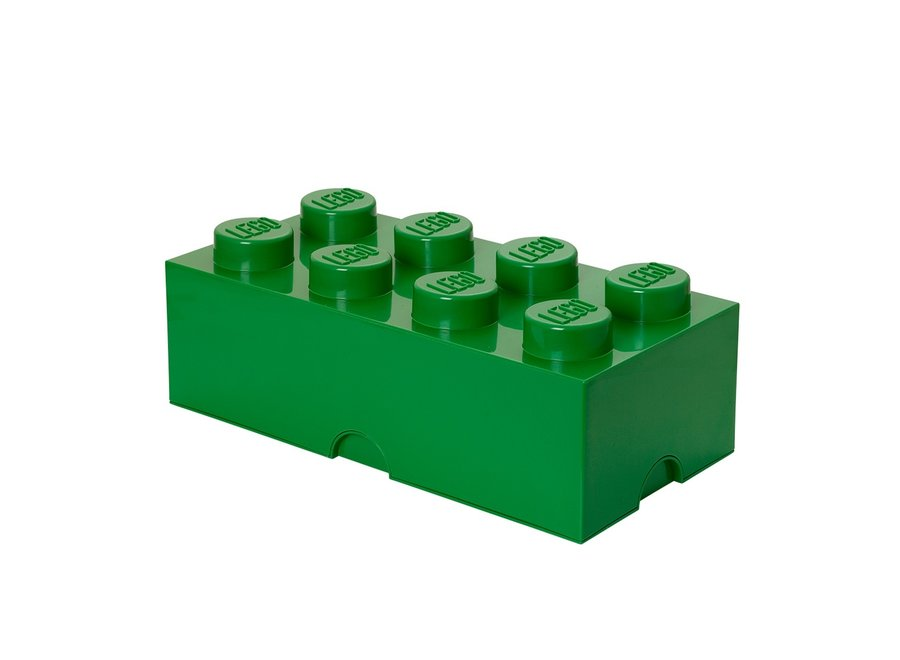 Opbergbox Brick 8 Classic Groen 12L