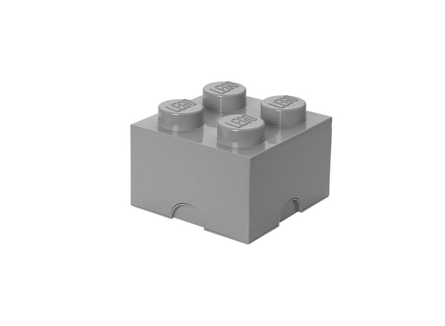 Opbergbox Brick 4 Grijs 6L