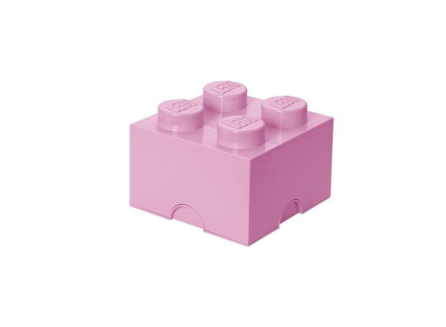 Opbergbox Brick 4 Licht Roze 6L