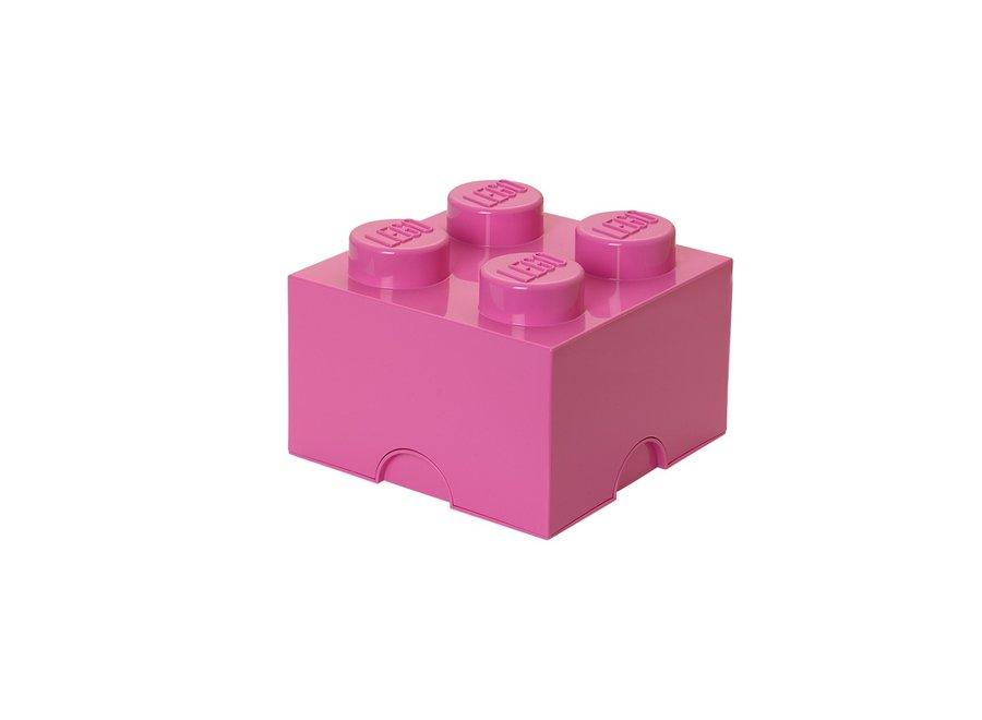 Opbergbox Brick 4 Roze 6L