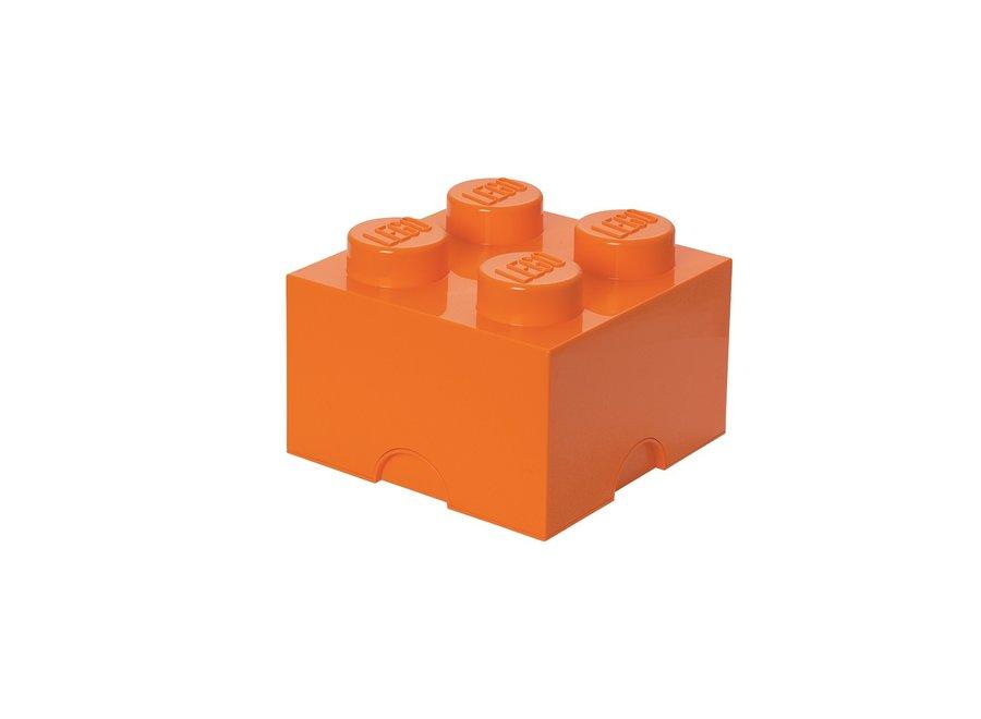 Opbergbox Brick 4 Oranje 6L