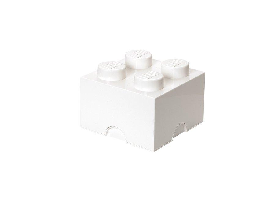 Opbergbox Brick 4 Wit 6L