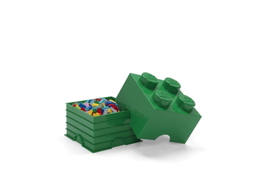 Opbergbox Brick 4 Groen 6L