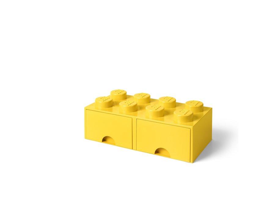 Brick 8 Opbergbox 2 Lades
