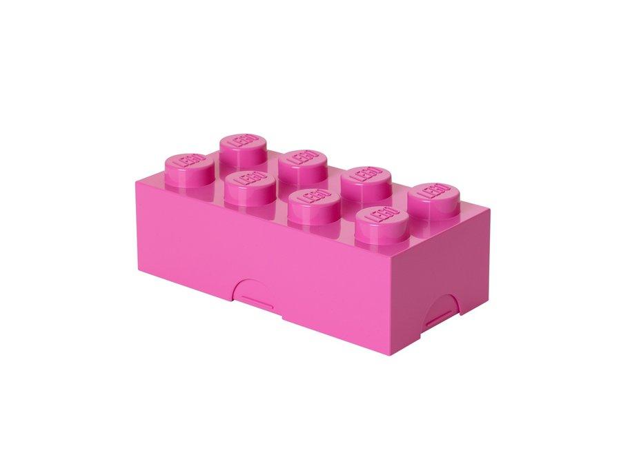 Snackbox Roze Classic Brick 8