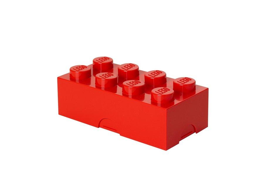 Snackbox Brick 8 Rood