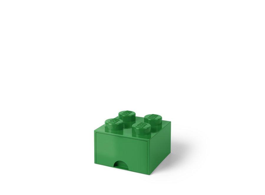 Brick 4 Opbergbox Lade Groen