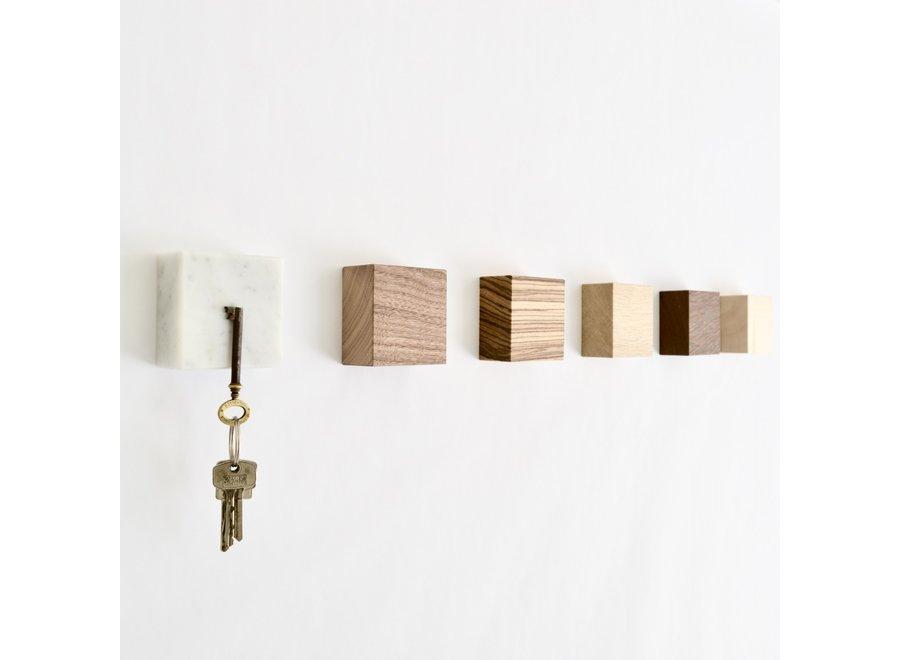 Magneetblokje MONOLYTH Carrara 3-pack