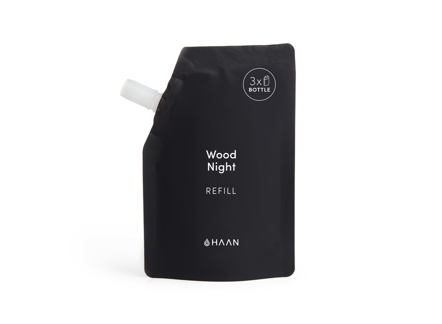 Hand Sanitizer Spray & Refill Wood Night