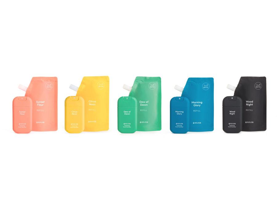 Hand Sanitizer 30ml Wood Night Spray & Refill