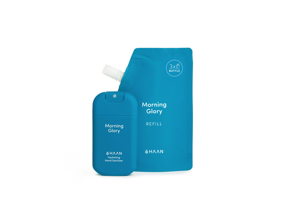 Hand Sanitizer 30ml Morning Glory Spray & Refill