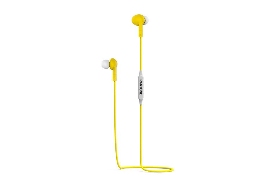 Pantone Bluetooth Stereo Koptelefoon Geel