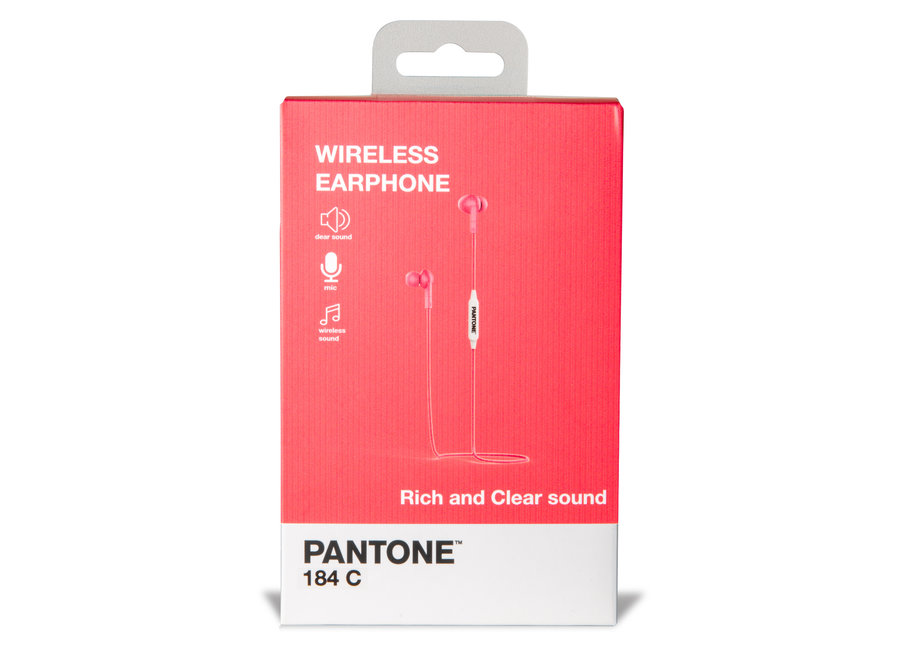 Pantone Bluetooth Stereo Koptelefoon Roze