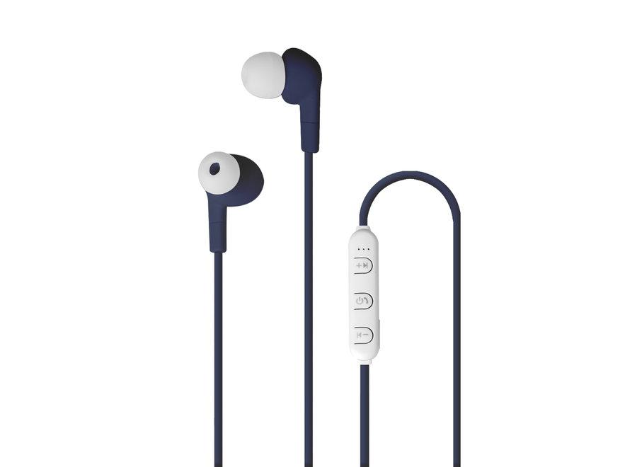Pantone Bluetooth Stereo Koptelefoon Blauw