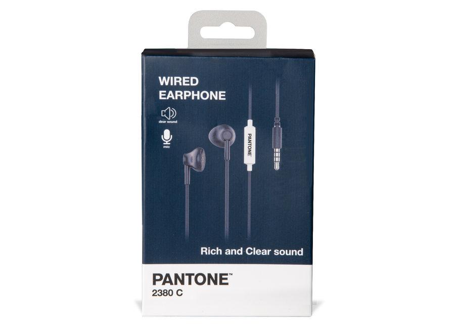Pantone Wired Koptelefoon Blauw