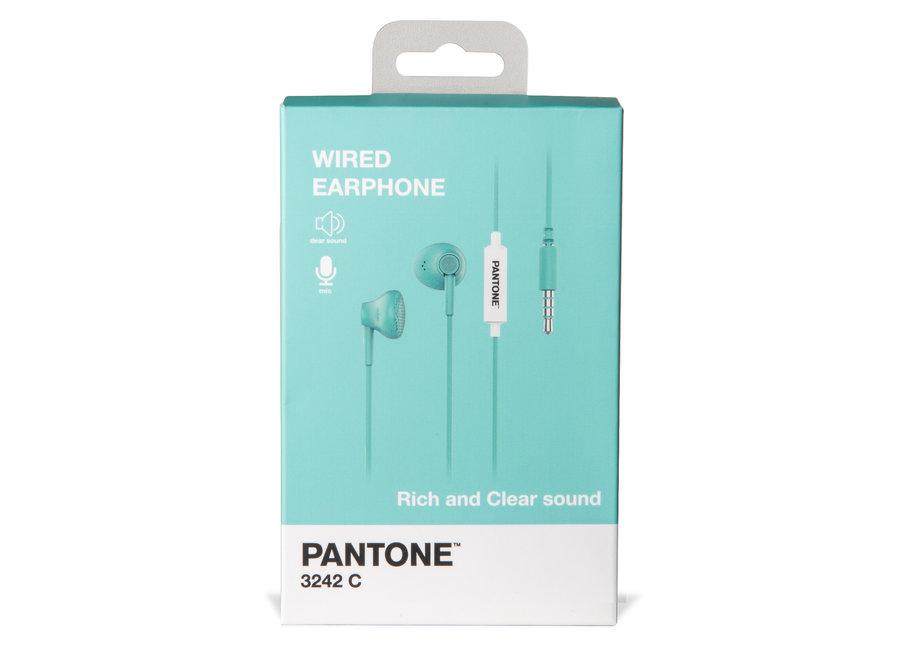 Pantone Wired Koptelefoon Groen