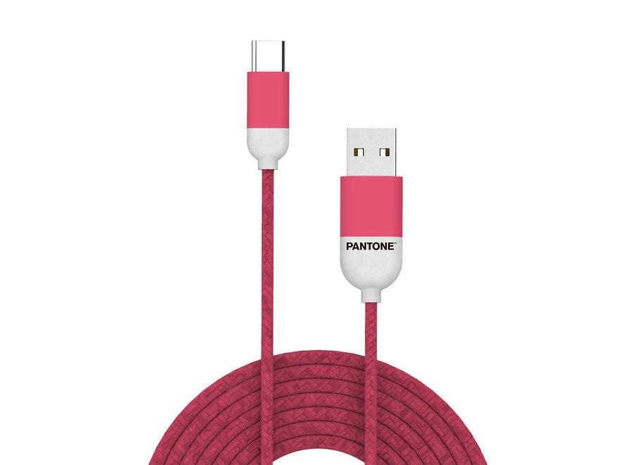 Pantone Kabel Type C Roze