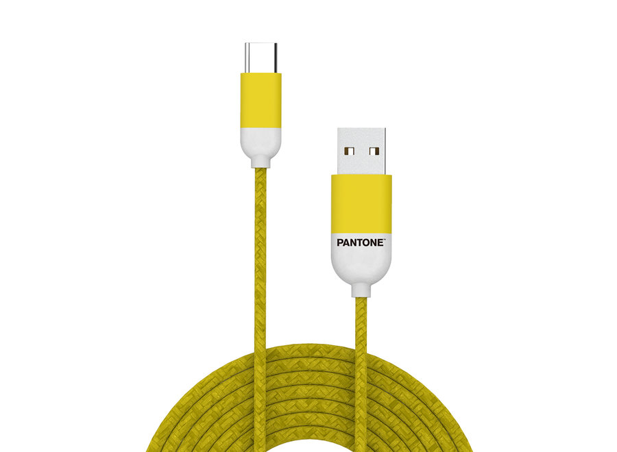 Pantone Kabel Type C Geel